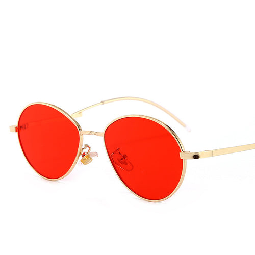 Hippie Style Women's Sunglasses Vintage Gradient