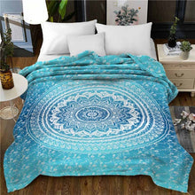 Load image into Gallery viewer, Elephant Super Soft Twin Bed or Throw Blanket
