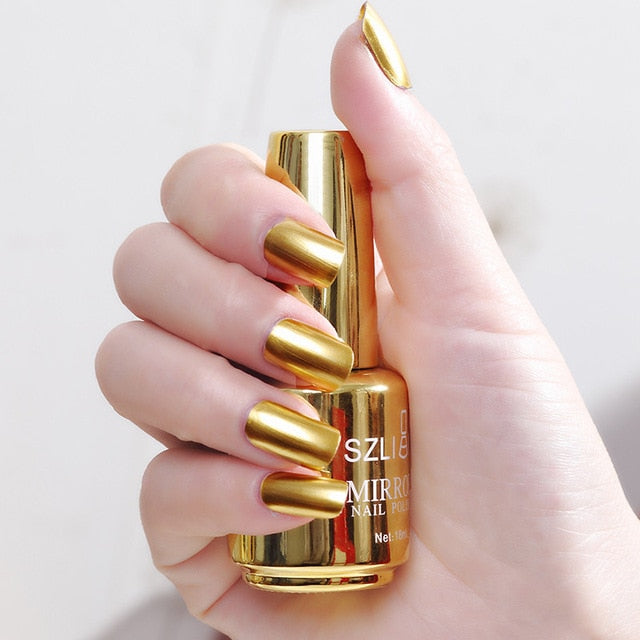 Metallic Finish Effect Nail Polish So Pretty