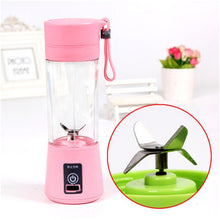 Load image into Gallery viewer, Portable Blender Mixer USB Charging Small Mini Juicer Extractor Smoothie Maker