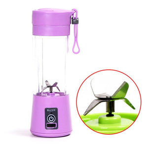 Portable Blender Mixer USB Charging Small Mini Juicer Extractor Smoothie Maker