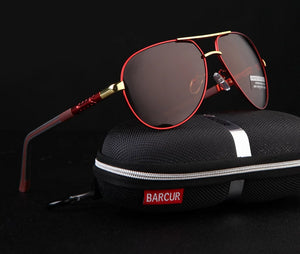 Men's Aluminum Magnesium Sunglasses Polarized Mirror
