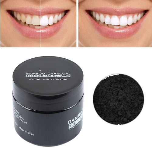 Activated Carbon Teeth Whitening Powder Bamboo Charcoal