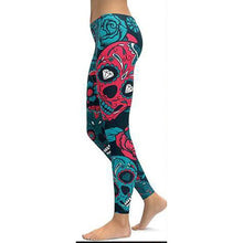 Load image into Gallery viewer, Cute Print Yoga Leggings Unique Fitness Workout Push Up