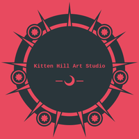Kitten Hill Art Studio Logo