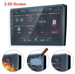 "2din car radio 9"" 2.5D Screen Car Multimedia Player ISO Android mirrorlink Autoradio Bluetooth for Universal car stereo"