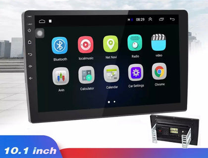 Huge 10.1 double din car stereo with Android, GPS Navigation, USB, Bluetooth, Mirror link, WiFi