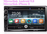 New -upgraded, HD, Touch Screen, MIrror link, USB, Bluetooth, SD card, FM Radio, Car Stereo, carplay