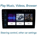 2GB + 32 GB - updated - top quality - Sparlour Original 10.1 inch Touch screen double Car Stereo with improved high quality Motherboard for performance.