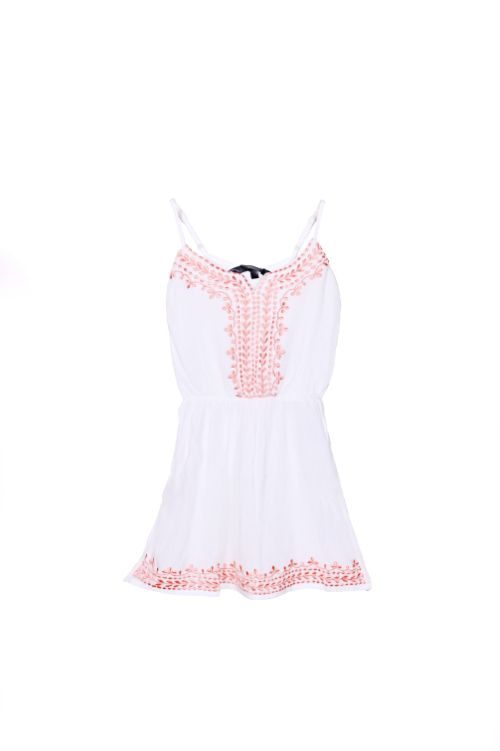 Pristine Pink Embroidered Dress 4-7 years