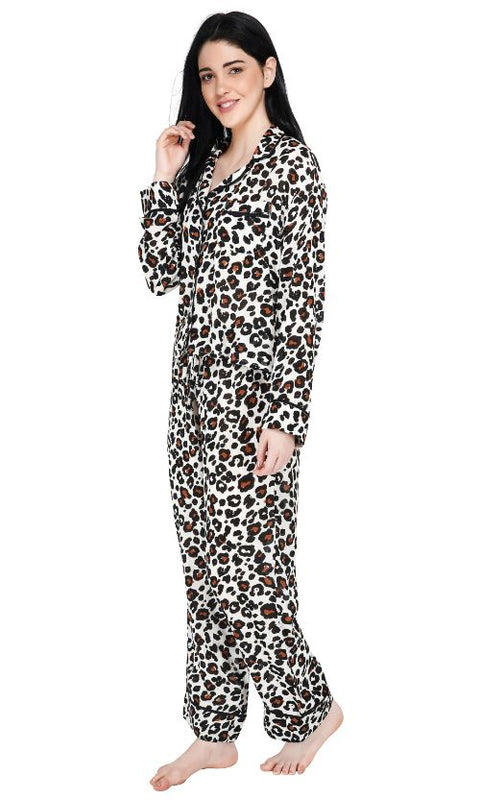 Set of Six Lazy Days Leopard Loungewear Set