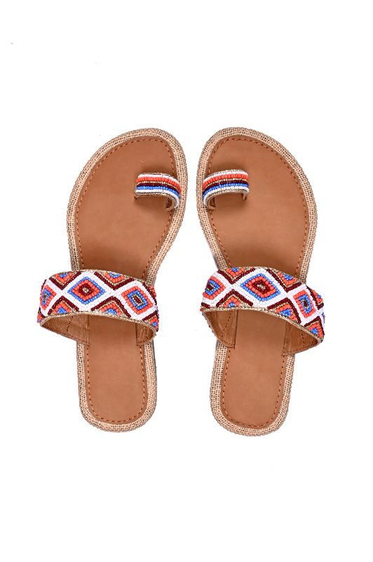 Set of Six Mazarine Toe-Ring Sandals