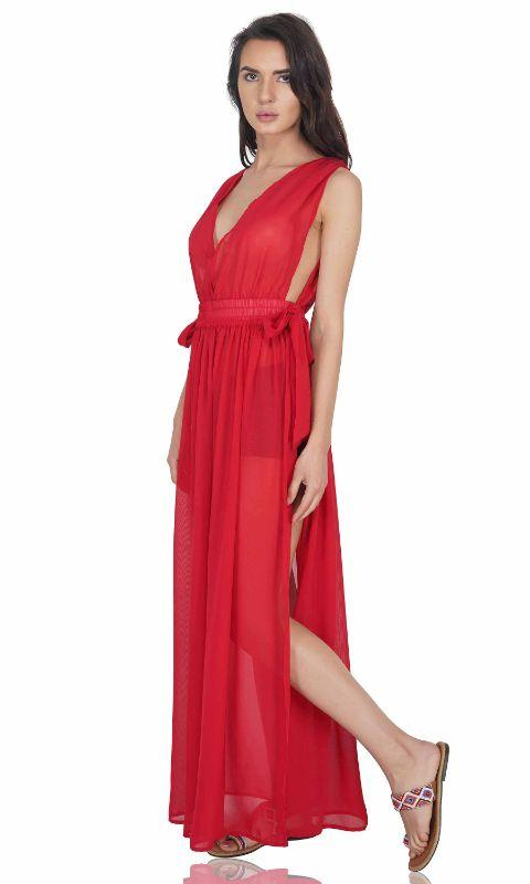 Scarlet Cinched waist Dress