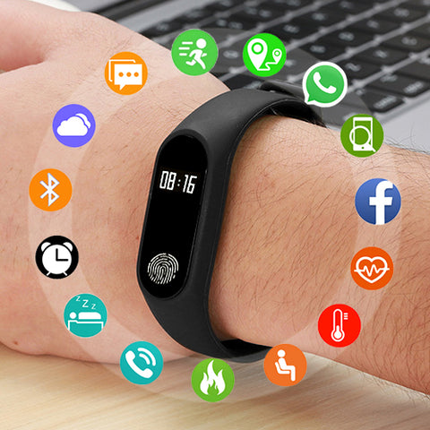 Smart Watch Masculino e Feminino Compativel com Android e IOS Fitness - esportistaslivres.com.br