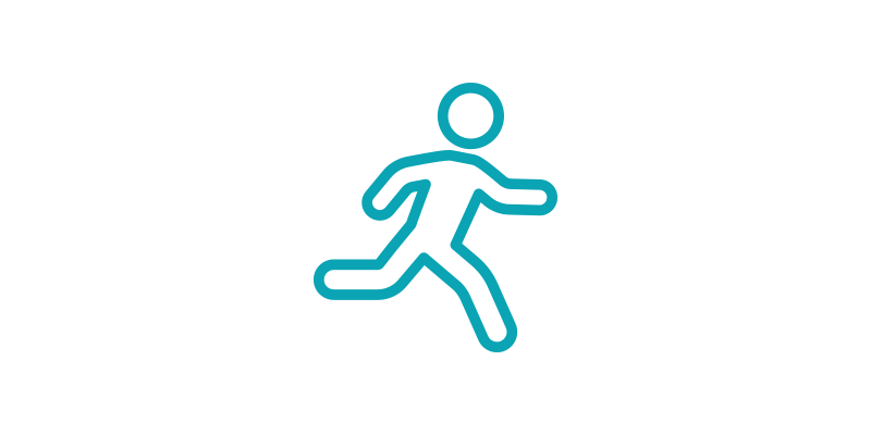 physical performance line-art icon
