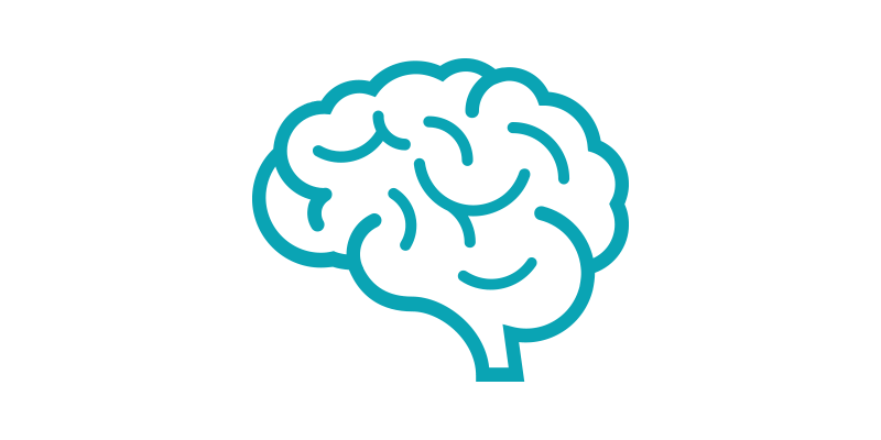 brain line-art icon