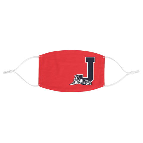 Varsity Face Mask: Jackson State (red)