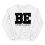 Varsity Sweatshirt: Be Black Excellence