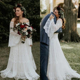 Ballbella custom made you this Long Sleevess Beach Beach Garden Tulle White Loose Wedding Dress comes in all sizes and colors. Welcome to pick the most fabulous style today, extra coupons to save a lot.