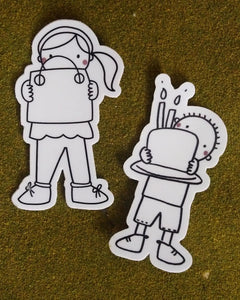 Friendship Sticker (2 pack)
