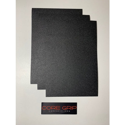 "Core Grip - Grip Tape Material Sheet - 3 Sheets - 8.5"" x 12"""