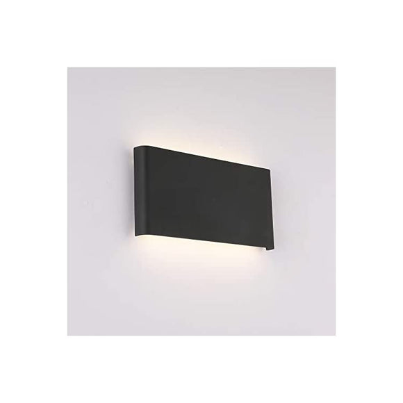 Black-Sconce-Wall-Lighting-Fixtures-Indoor,-Modern-Mini-Vanity-Lights-10W-4000K-Up-and-Down-LED-Bedroom-Bed-Reading-Lamp