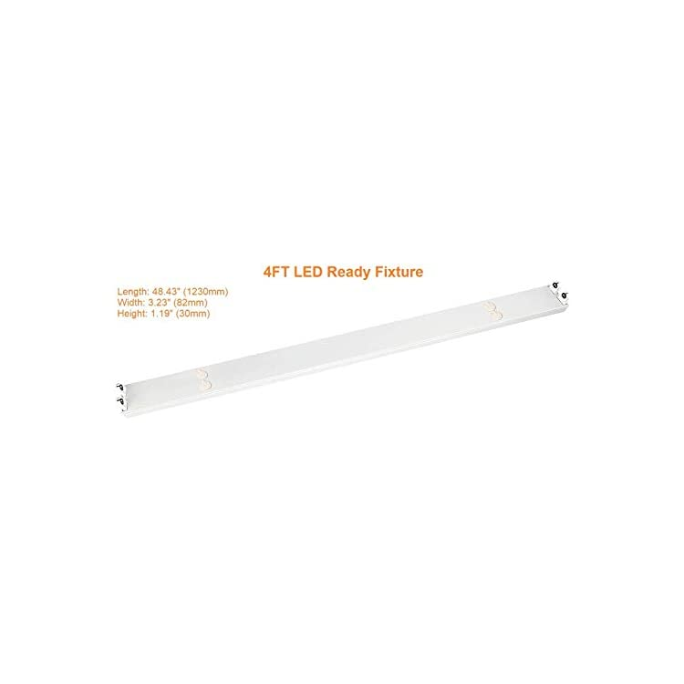 10-Pack-2-Lamp-LED-Ready-T8-Strip-Fixture-4FT-LED-tubeT8-Strip-Fixture