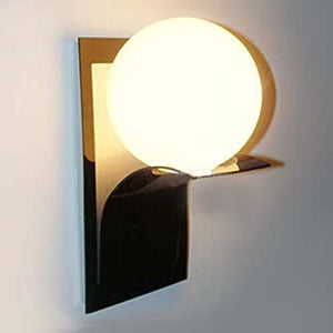 Wall-Sconce-Round-Glass-Ball-Shape-Wall-Lamp-Modern-Wall-Lighting-Fixture-Living-Room-Lamp-Electroplated-Finish-40W-E26-/-E27