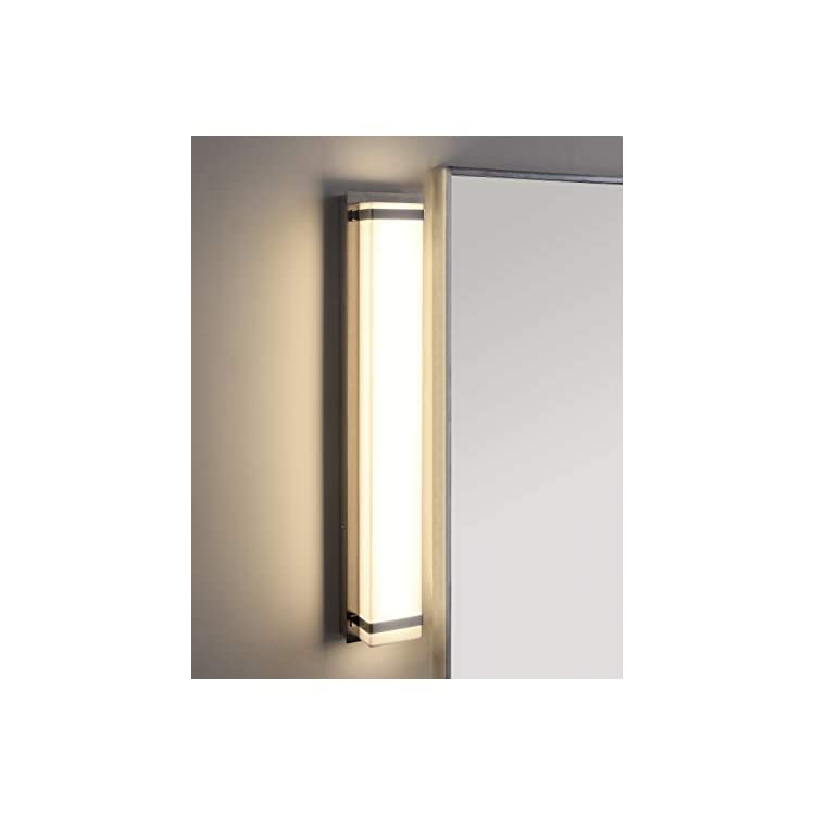SCN4041A-Lighting-Gannon-Brush-Nickel-and-White-Vanity-Bar-Bathroom-(LED-Bulb-Included)-Sconce