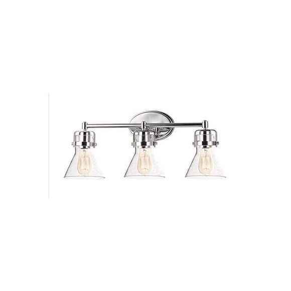 26113CDPC-Seafarer---Three-Light-Bath-Vanity,-Polished-Chrome-Finish-with-Seedy-Glass