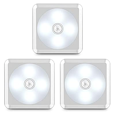 Motion-Sensor-Light,-Battery-Operated-Closet-Light-Wireless-Motion-Sensor-Closet-Lights-Stick-on-Anywhere-Motion-Sensor-Night-Lights-for-Stair,-Cabinet,-Closet,-Bathroom-Cool-White-3-Pack