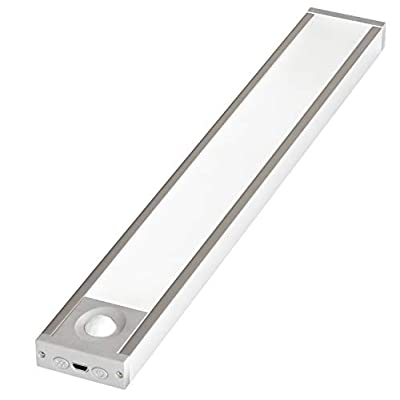 10-inch-Rechargeable-Battery-Powered-Motion-Activated-LED-Under-Cabinet-Lighting-–-Three-Level-Dimmer,-4-Operational-Modes,-5000K