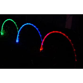 2005-Solar-String-Lights-for-Landscape-Lighting,-4-Feet-Long-Rainbow