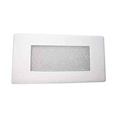10-inch-Textured-Frosted-Glass-Step-Light-Faceplate-Cover-(15813COVER)