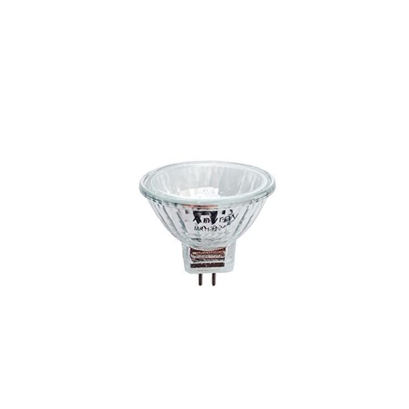 A1868Y-(1-Bulb)-Clear-MR11-12Volt-10Watt-Precision-Halogen-Reflector-Fiber-Optic-Light-Bulb-10W-12V