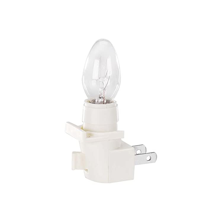 1015-44-Plug-in-Night-Light-with-On/Off-Switch,-Ivory/Cream
