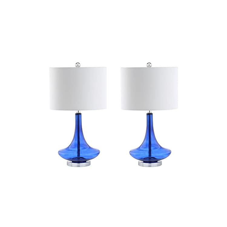 JYL1081D-SET2-Cecile-25.5'-Glass-Teardrop-LED-Table-Lamp-Contemporary,