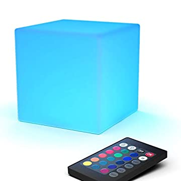 LED-Light-Cube:-4-inch-RGB-16-Colors-Cool-Cosmic-Cube-Lights-with-Remote-Control,-MCU-Tesseract-Mood-Lamp,-IP65-Waterproof-and-USB-Charging-Beside-Desk-Lamp,-Perfect-for-Kids-Nursery-and-Toys