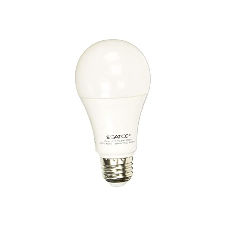 S28789-Medium-Light-Bulb-in-White-Finish,-4.63-inches,-Frosted
