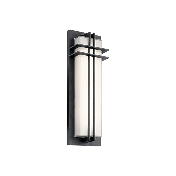 49298BKTLED-Manhattan-Outdoor-Wall-Sconce,-2-Light-LED-41-Total-Watts,