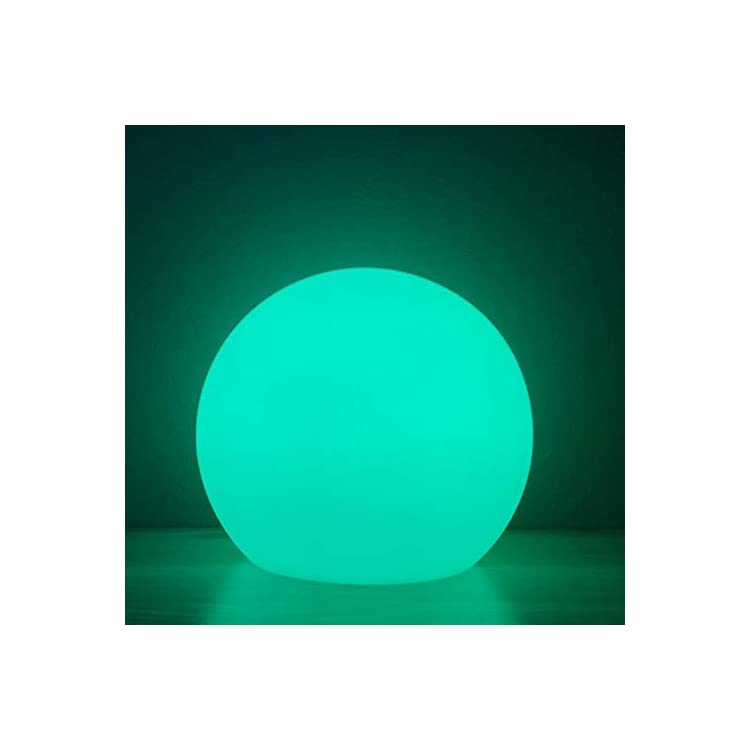 LED-Ball-Light,-6-Inch-Rechargeable-&-Remote-Control-Globe-Lights-16-RGB-Colors-Changing-Indoor/Outdoor-Night-Light-for-Home/Party/Lawn/Desk-Decoration