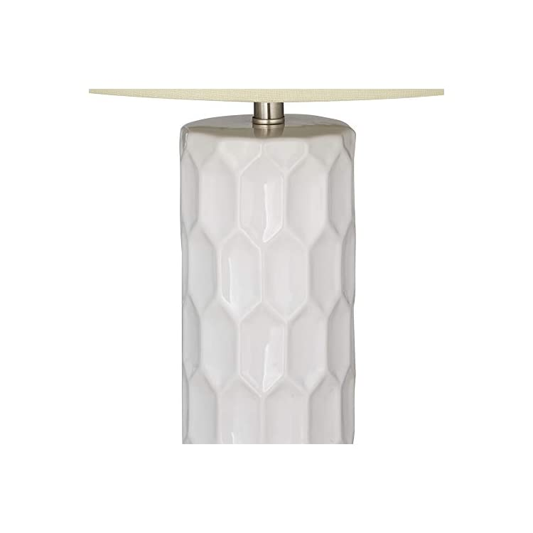 Amazon-Brand-–-Mid-Century-Modern-White-Ceramic-Table-Lamp-With-LED-Li