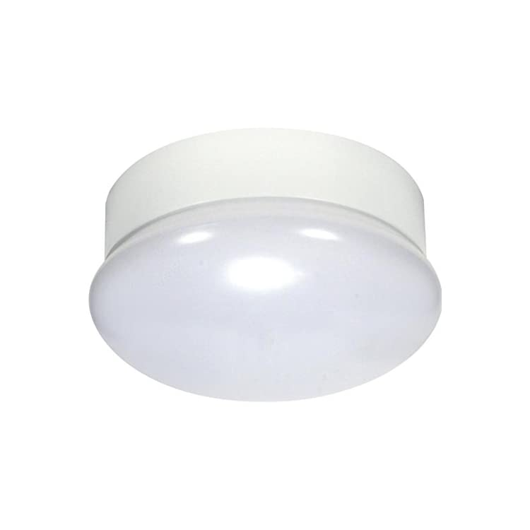 62/963-Nuvo-Round-LED-Flush-Mount-Close-to-Ceiling-Lamp,-White,-13.5-W