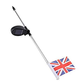 Solar-British-Flag-Light,-Solar-Garden-Lights-Outdoor-Stakes-for-Patri