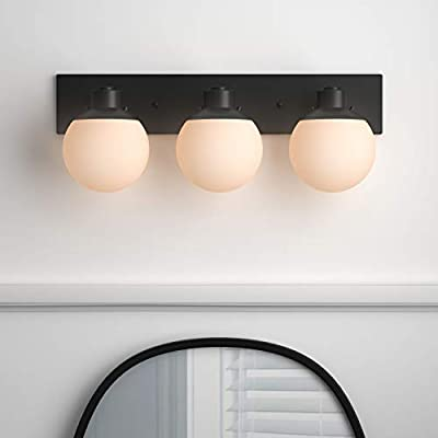 Mid-Century-Vanity-Light,-10'H,-Dark-Bronze