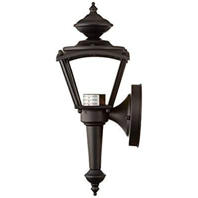 6698300-One-Light-Exterior-Wall-Lantern,-Matte-Black-Finish-on-Steel-w