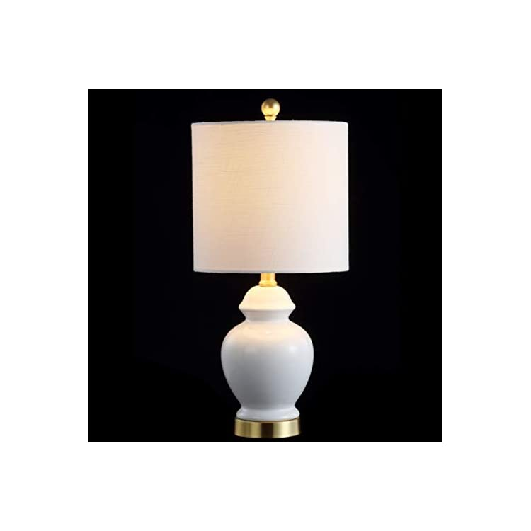 JYL1035A-Perry-20'-Ceramic/Metal-LED-Table-Lamp,-Transitional,Traditio