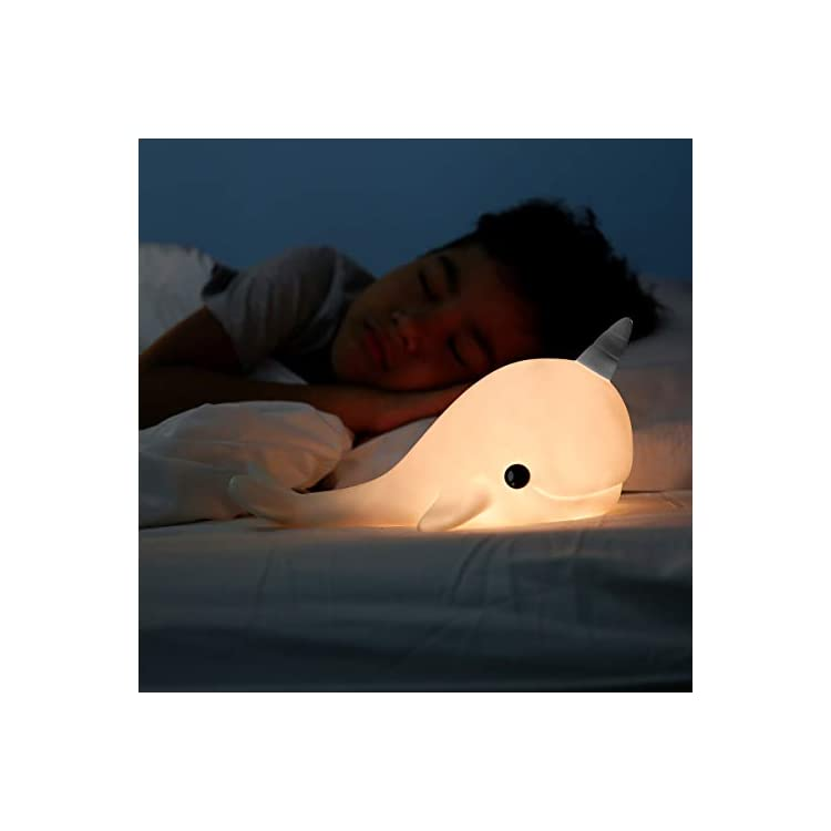 Narwhal-Night-Light-for-Kids---RGB-Colour-Changing-LED-Lamp-for-Girls-