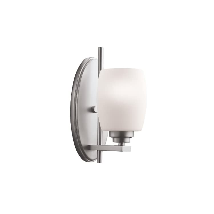 5096NI-Bath-Vanity-Wall-Lighting-Wall-Sconce,-Brushed-Nickel-1-Light-(5'-W-x-11'-H)-100-Watts