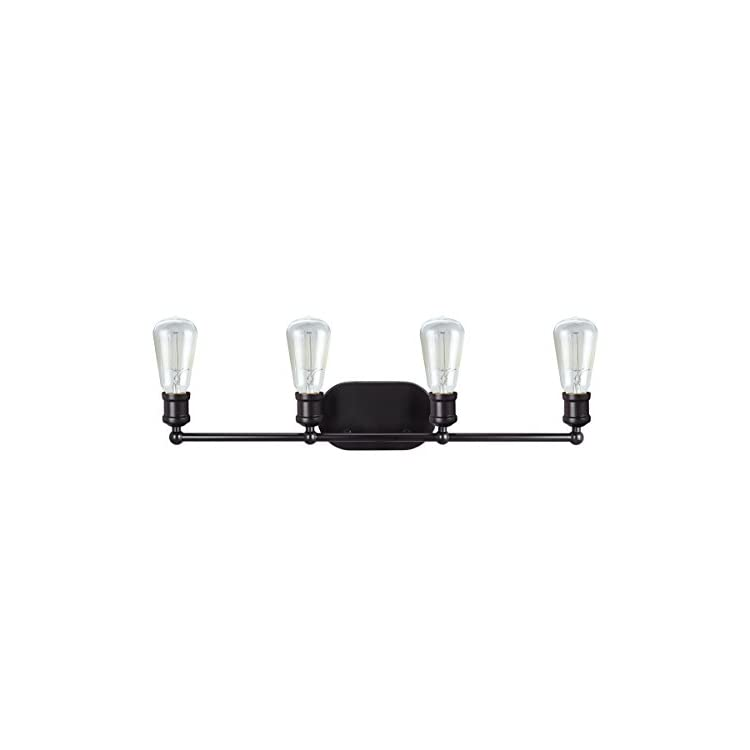 62168,-Four-Metal-Bathroom-Wall-Light-Fixture,-27-5/8'-Wide,-Transitional-Design-in-Oil-Rubbed-Bronze-Vanity,-4